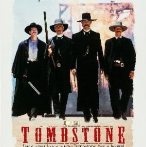Tombstone poster, 1993. (Courtesy of Hollywood Pictures)