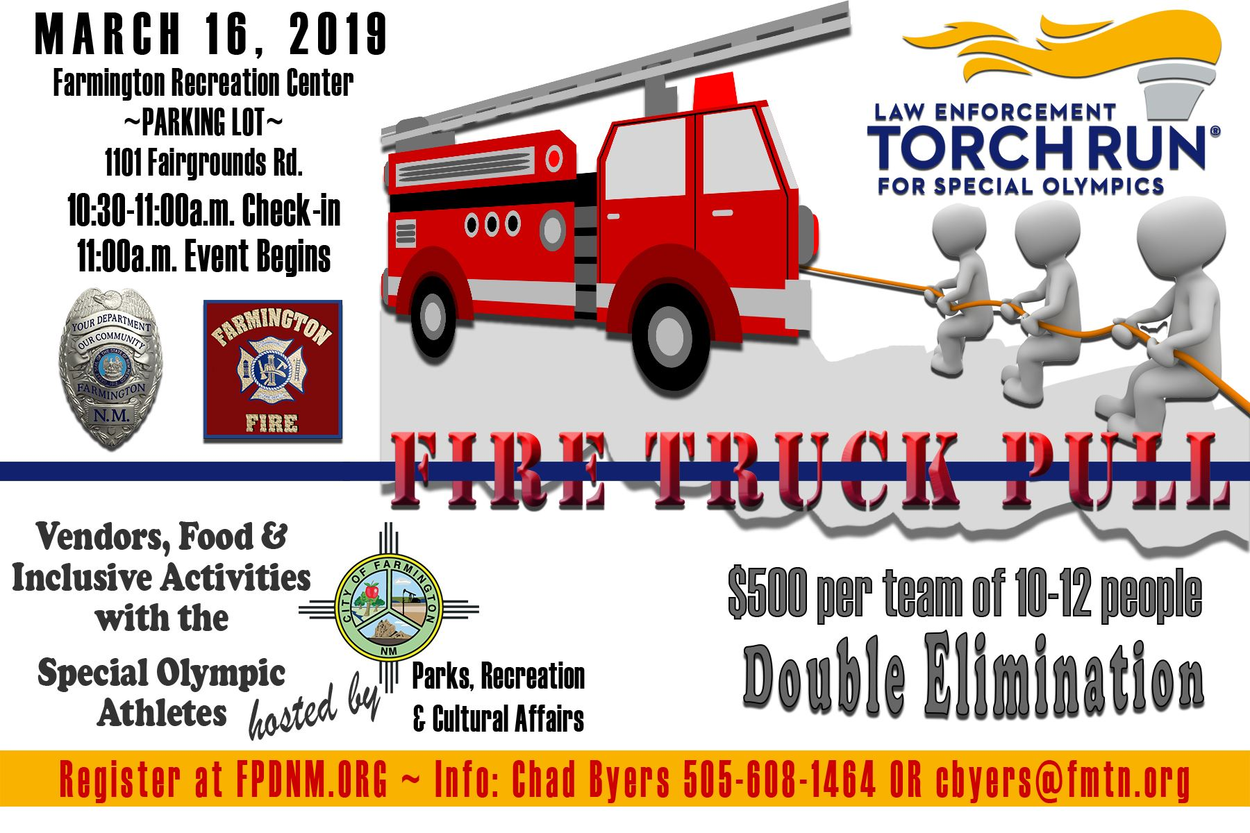LETR Fire Truck Pull 2019