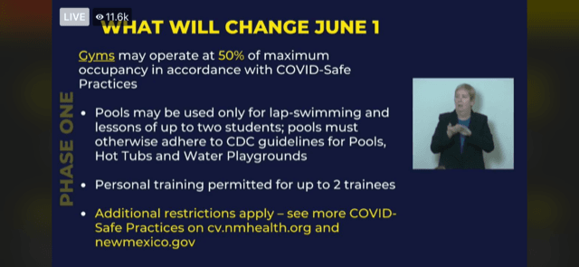 Slide 3 of COVID Update 5-28-20