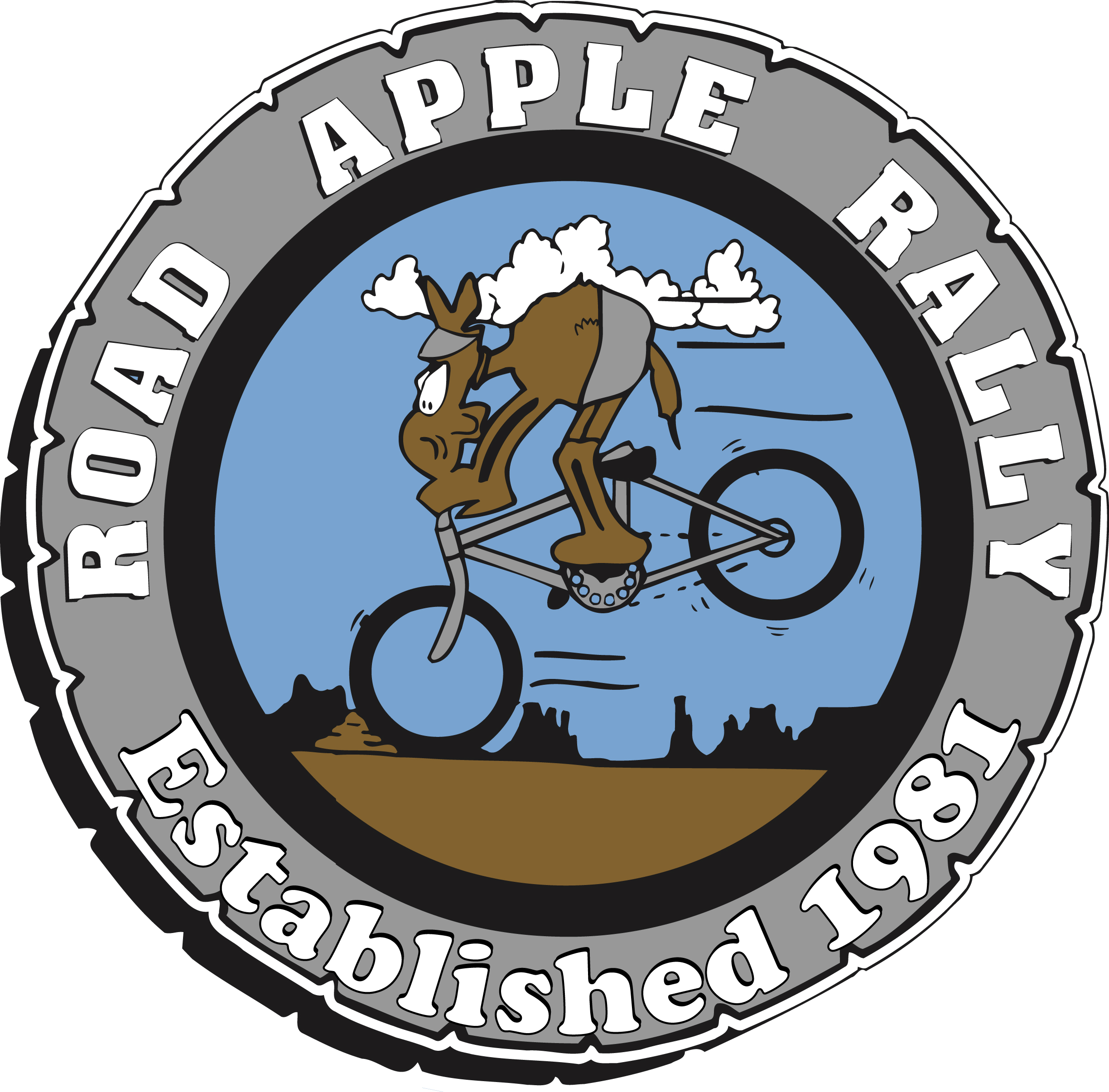 Road Apple Rally Logo