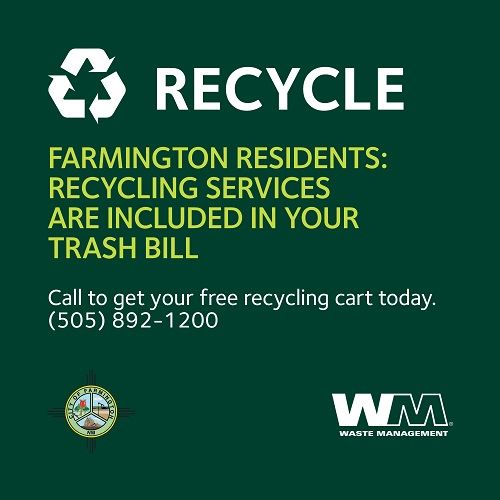 Recycle in Farmington