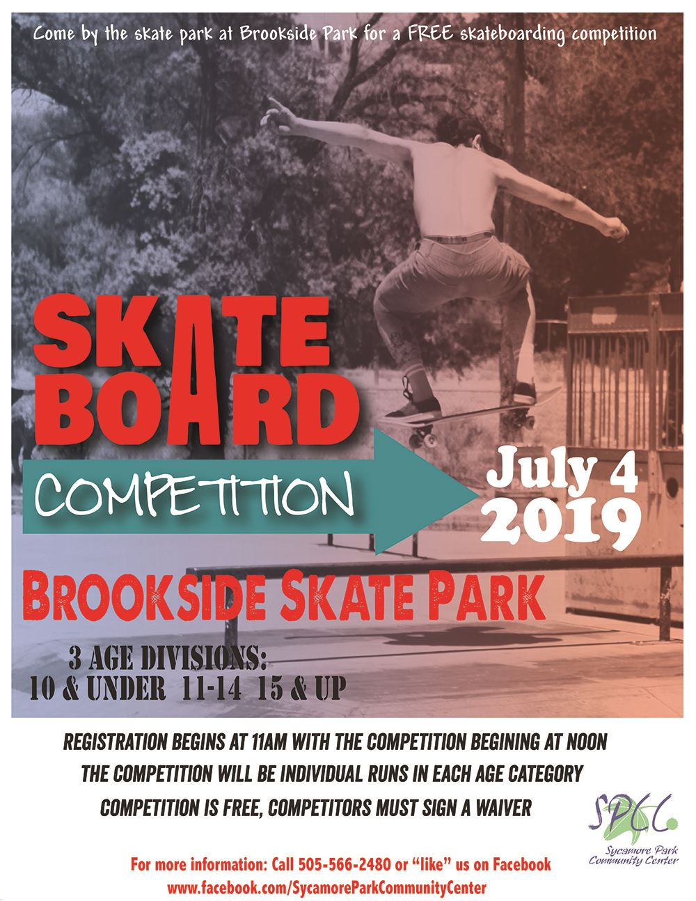 skateboard competition Flyer