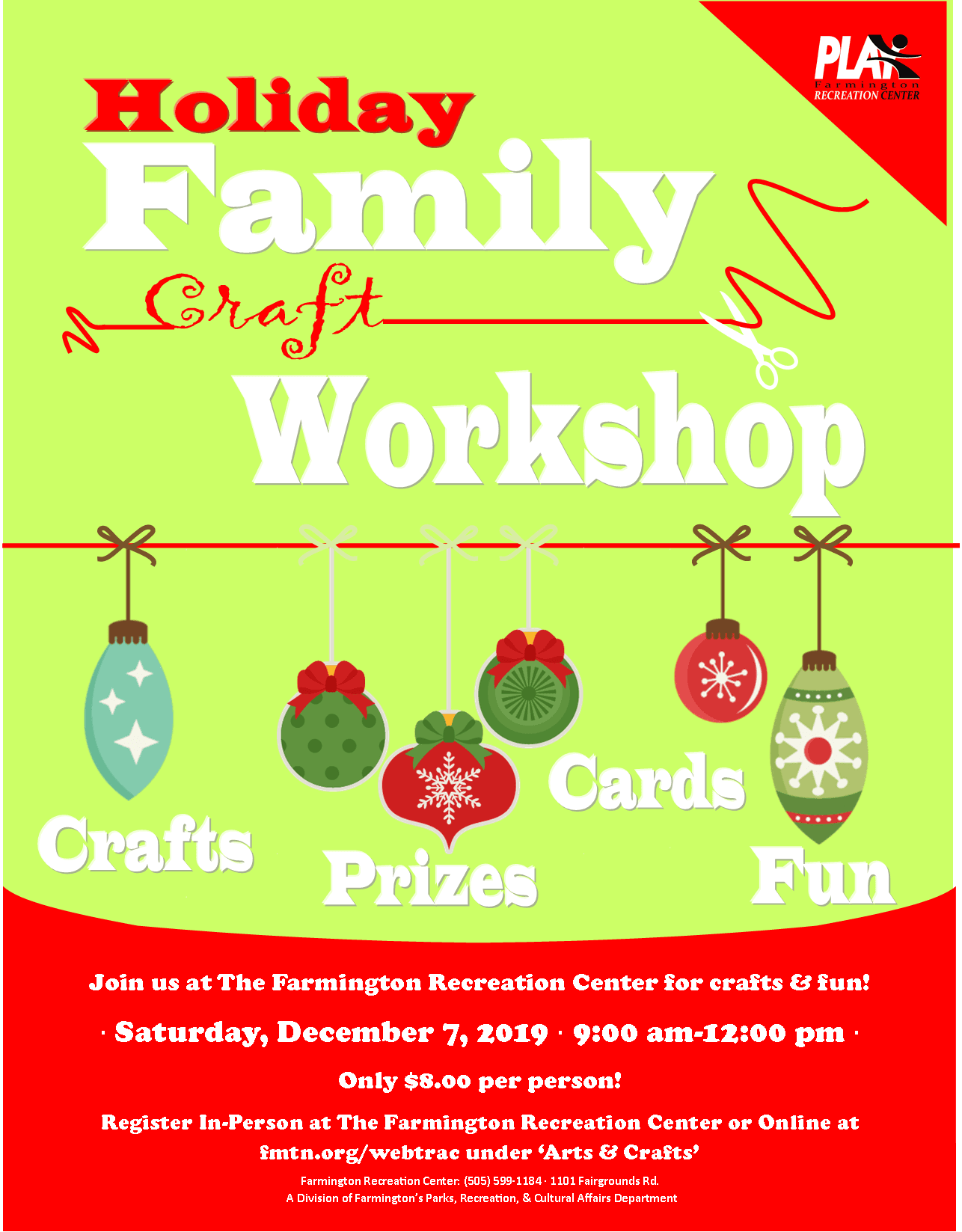 holiday family craft